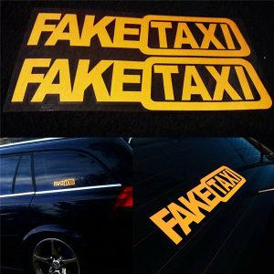 FakeTaxi fake taxi naljepnica za auto
