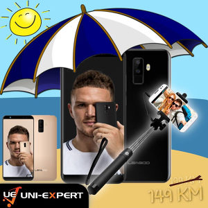 Leagoo Smartphone M9 Black/Gold+Poklon