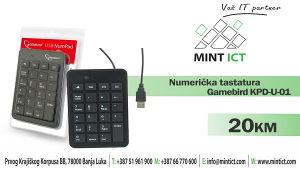Tastatura numerička Gamebird KPD-U-01
