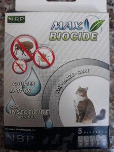 Max Biocide ampule protiv buha,krpelja,komaraca 5/1