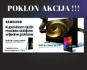 "Samsung 8K QLED 65"" Q90R TV QE65Q90RATXXH POKLON TABLET"