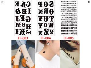 Tattoo tetovaze slova
