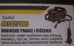 DUBINSKO PRANJE , ČIŠĆENJE NAMJEŠTAJA 061 627 385
