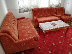 Trosjed, Dvosjed, Fotelju i tabure