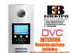 Interfon DVC vanjska pozivna jedinica sa monitorom