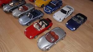 Porsche modeli 1:18 kolekcija makete
