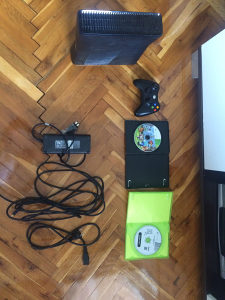 XBOX360+volan i pedale