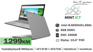 Laptop Lenovo IP 330-15IKBR i5-8250U/8GB/256GB/