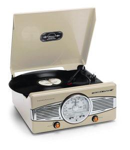 Gramofon Turntable Lenco Retro TT-28C Radio