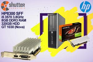 HP 8300 i5 3.Gen GIGABYTE GT 1030 GAMING