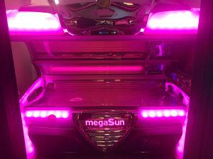 Solarijum, solarij Megasun 7900 Alpha