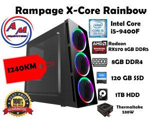 GAMING RAČUNAR Rampage X-Core Rainbow i5-9400F