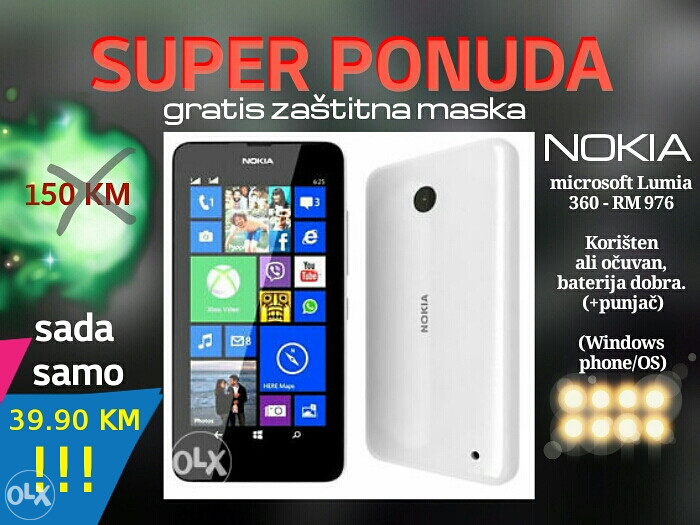 Nokia Lumia Smartphone Mobitel