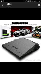 ANDROID BOX M 96 X