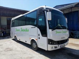 Autobus ISUZU TURQUOISE - Motor problem