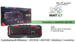 Tastatura MARVO KG749