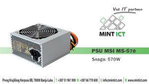 PSU MSI MS-570