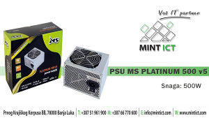 PSU MSI Platinum 500 v5
