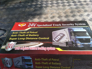 Daljinsko zaključavanje sa alarmom za kamion 24V-NOVO-