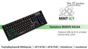 Tastatura i miš MARVO K616A