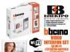 Video interfon set sa WIFI i čitačem kartica Bticino