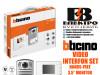 Interfon/portafon video set hands-free Bticino