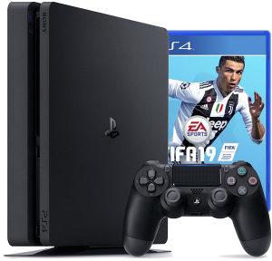 Sony Playstation 4 500GB (PS4) i FIFA19