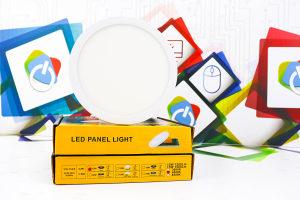 LED panel RIMLESS okrugli ugradbeni 12W 4000K