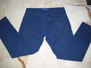 Muške pantalone - hlače teget plave