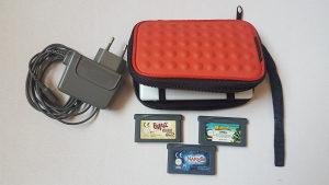 Nintendo DS Lite,pet igrica,org,punjac,torbica