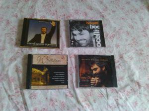 CD ozbiljna muzika Pavarotti Bocelli Placido Domingo