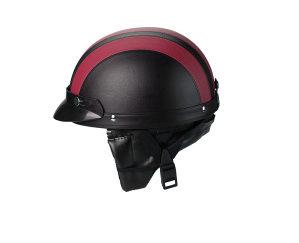 MS Zaštitna kaciga za scooter - crvena boja