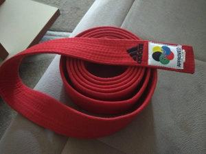 pojas za karate  /wkf  adidas 280 cm novo