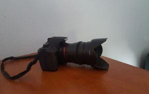 Canon 700d + Rokinon 35mm T1.5 + 16 GB kartica
