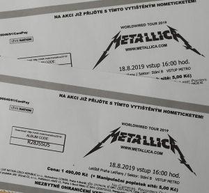 Metallica, Prag 18.8.