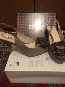 Sandale od prave velur kože - NOVO