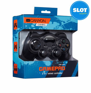 CANYON 3 in 1 Wired Gamepad GP4