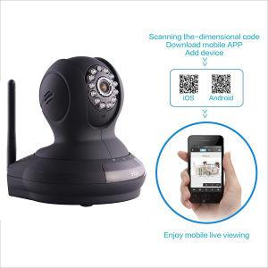 3EYE HD WIFI LAN pokretna kamera za nadzor