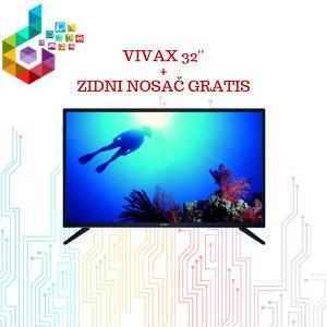AKCIJA:VIVAX 32'' LED TV-32LE79T2 + GRATIS ZIDNI NOSAČ