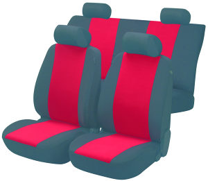 Auto Presvlake Bicolor Crvene