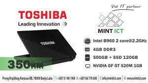 Laptop Toshiba Satellite L750-1XV