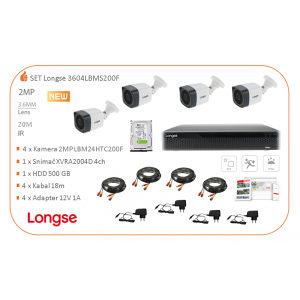 Videonadzor LONGSE SET 4 FULL HD KAMERE
