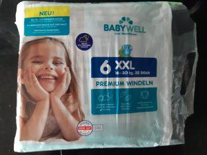 Pelene za djecu 6 XXL 16-30 kg; 32 kom/pak