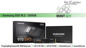 SSD Samsung M.2 500GB
