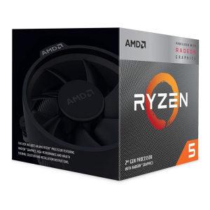 AMD Ryzen 5 3400G 3.70GHz AM4 BOX Wraith Spire
