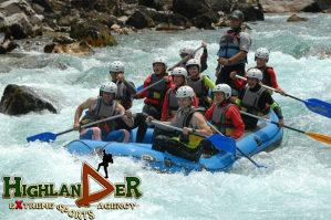 FOČA / Rafting na TARI: Kamp Highlander