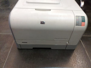 Printer Hp color  laserjet CP1215