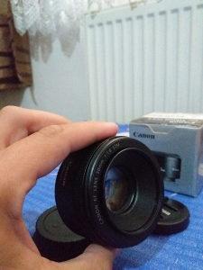 Objektiv Canon 50mm 1.8