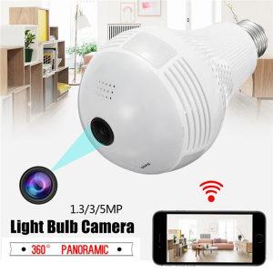 Kamera sijalica spijunska skrivena wifi HD video nadzor