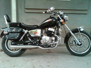 Honda rebel (nesipravna sa papirima BiH)